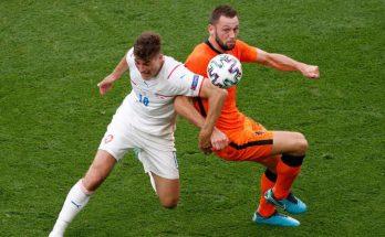 สาธารณรัฐเช็ก ไล่ทุบ เนเธอร์แลนด์ 10 คน 2-0 ทะยานรอบ 8 ทีม ยูโร 2020